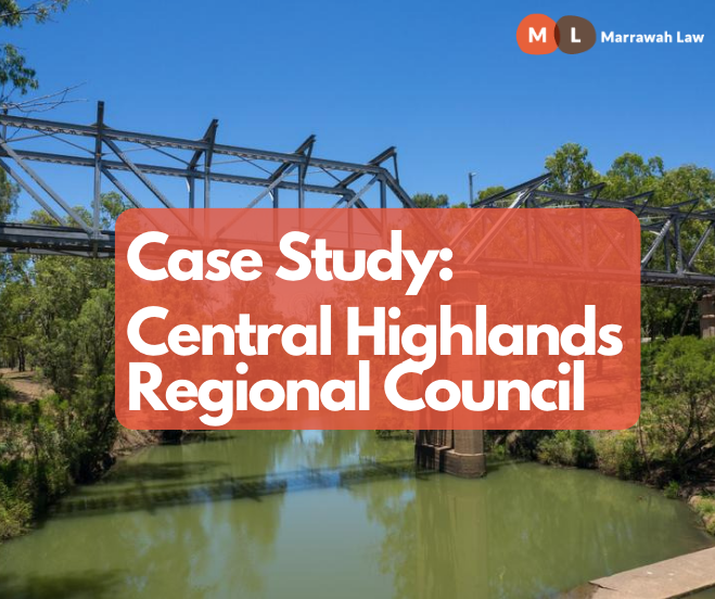 Case Study: Central Highlands Regional Council